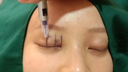双眼皮眼睛定点技巧