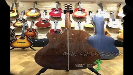 【向阳树琴行】加百列高端限量全单吉他Gabriel LR-865C阿迪朗达克面板 马达加斯加玫瑰木 吉他博物馆性价比