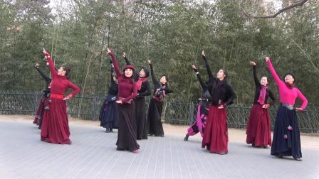 紫竹院相约紫竹广场舞---619-我是一条小河