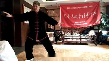 杨式太极拳24式video_20190119_110752