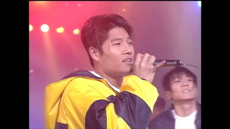 [金钟国忘词]Turbo - Good Bye Yesterday (19971203 KBS歌谣TOP10)