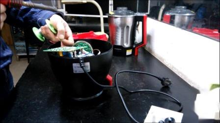 南方家电维修:高愽破壁机不通电维修视频教程