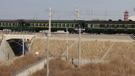 客电K7388次出白城站