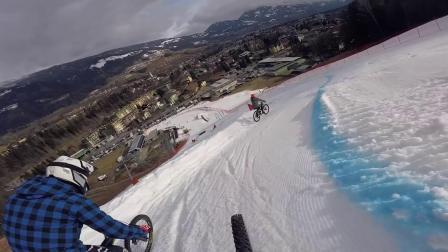 ALUTECH - SIEGI ZELLNER大雪山全新FANES ENDURO山地车骑行!