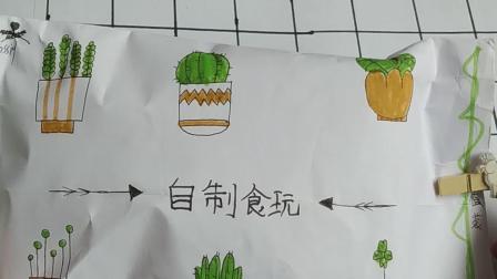 🌸开封自制食玩包(花卉包)🌸