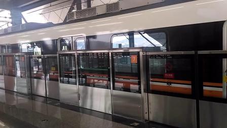 重庆地铁4号线太平冲站出站(往唐家沱方向)