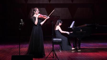 Frank Sonata for Violin and Piano in a major second movement