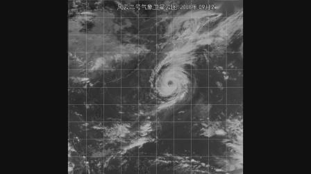 2018年海区卫星云图