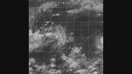 FY-2F2018年海区卫星云图