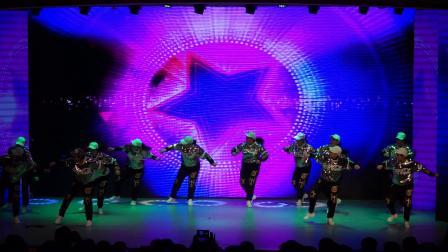 2019春晚:兴隆矿业舞蹈队演出街舞《活力四射》