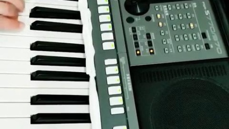 雅马哈电子琴弹奏【军中绿花】