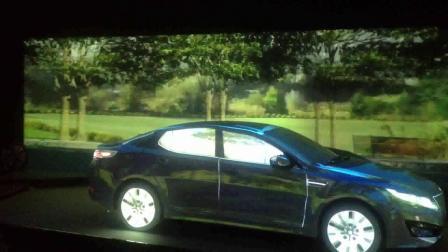 Mapping投影——KIA 3D车模投影秀