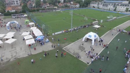 Serbia Kids Cup 2019 aerial view