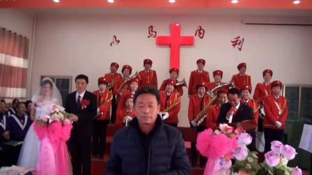 侯小伟与 罗君蓉教堂举行结婚典礼