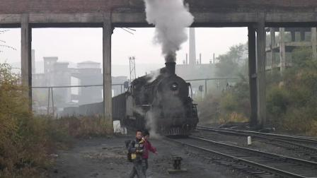 蒸汽机车 黑龙江鸡西2008年