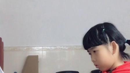 廖丽彤学钢琴