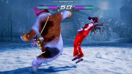 铁拳 7 熊猫(kevin) vs 阿丽莎(小雅 中国第一女铁)