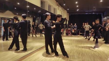 拉丁舞方步教学