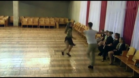 俄罗斯少年拉丁舞桑巴练习