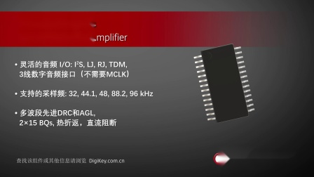 1分钟读懂 Texas Instruments TAS5805M 音频放大器