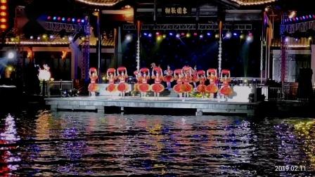 南京白鹭洲新年夜