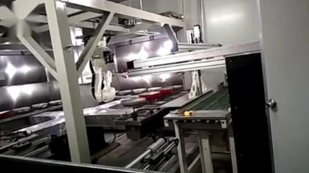 五轴喷漆机-铁锅喷涂机-自动喷涂设备厂家-鑫建诚自动化