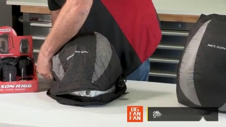 美国 Nelson Rigg Compact Backpack 便携头盔背包