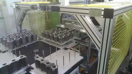 快速摆垫桁架机器人(非标专机)