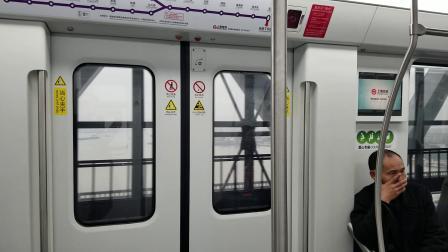 上海地铁5号线POV黄浦江过江缓行段(0539紫罗兰 江川路→西渡)