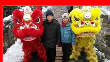 春节台城舞狮