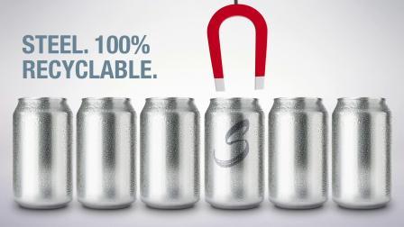 钢制饮料罐宣传活动