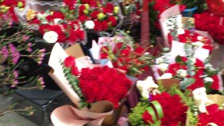 情人节的捧花