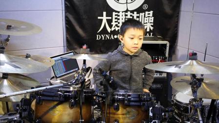 Tama groove session 少儿组冠军-大肆鼓噪学员-施昱 (默默) 演示
