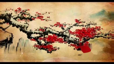 红梅傲雪迎春来
