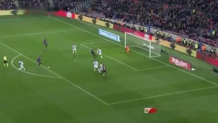 我在梅西点球一蹴而就!巴萨1-0巴拉多利德结束联赛不胜截了一段小视频