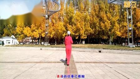 大庆杰克广场舞《走过咖啡屋》背面表演附口令分解