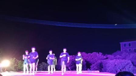 酒铺村晚会《欢喜的歌》沙田村舞蹈队