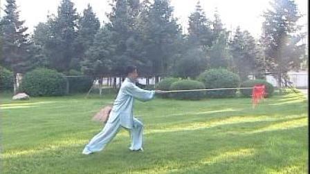 御武堂枪法教学--传统武术教程之十二 梨花枪. 李承祥14