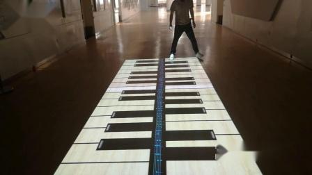 kinect体感——地面钢琴