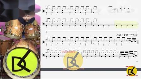 【DL爵士鼓】吸引动态鼓谱