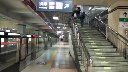 北京地铁八通线TQ407(改造后)四惠东出站(四惠方向)