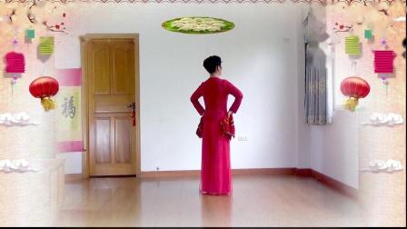 新年手绢舞《吉祥饺子中国年》编舞静静花眼、正反面演绎舞痴、摄像老七、制作新疆花儿、