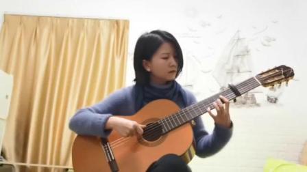 【吉他教室】第11屆函證書課程初級班第3單元Tanguillo de Cadiz(王慶的作業錄影片段)