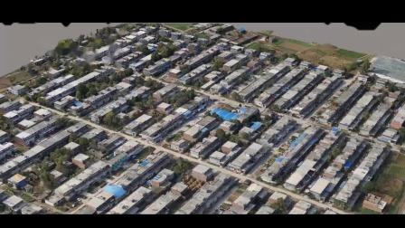 无人机倾斜摄影大型村落