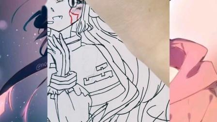 『马克笔手绘』——一只在太空唱歌的托莱娜小姐w,自家歌姬欢迎同人哈哈