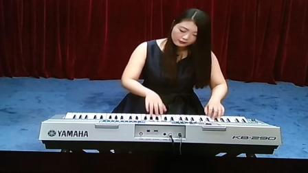 电子琴四级练习曲《前奏曲》