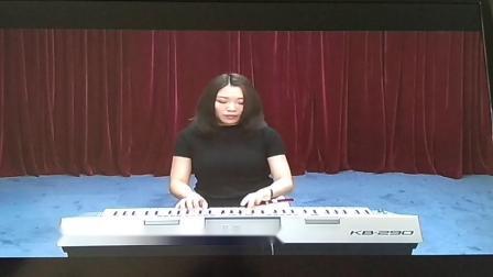 电子琴五级《练习曲NO.37》莱蒙曲