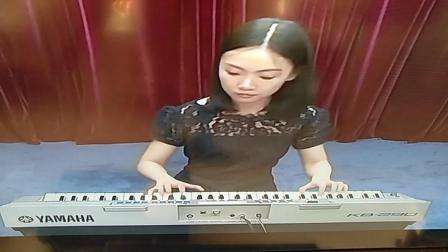 电子琴一级乐曲《春晓》