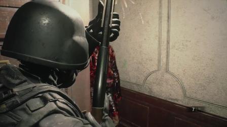 PS4 生化危机2重置版 第四幸存者 无伤
