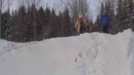 东北往事 2014年2月零下40度的桐桐